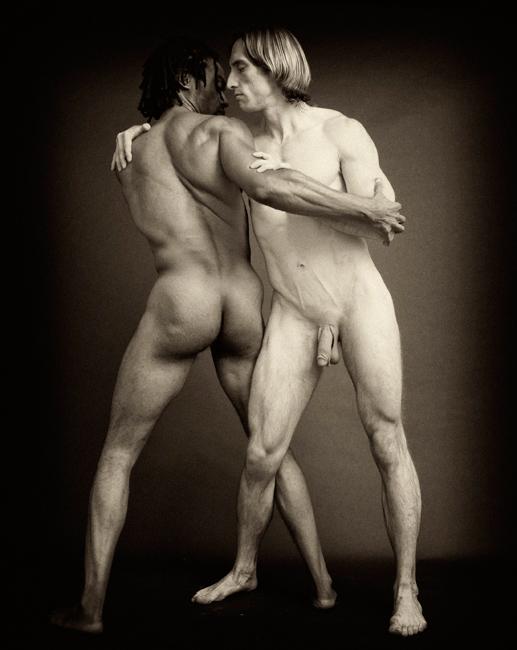Greek man nude wrestling